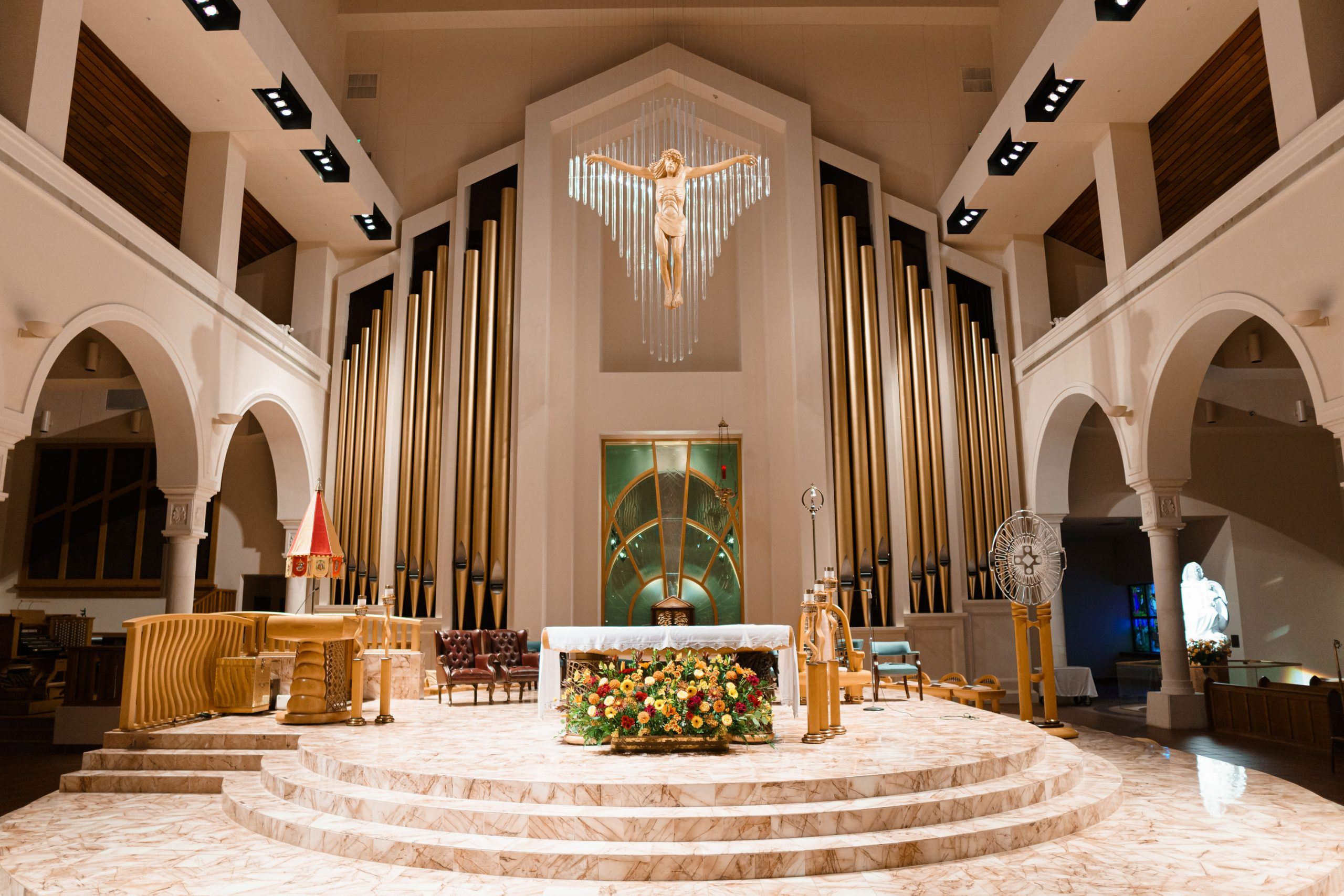 New Schoenstein pipe organ dedicated at basilica