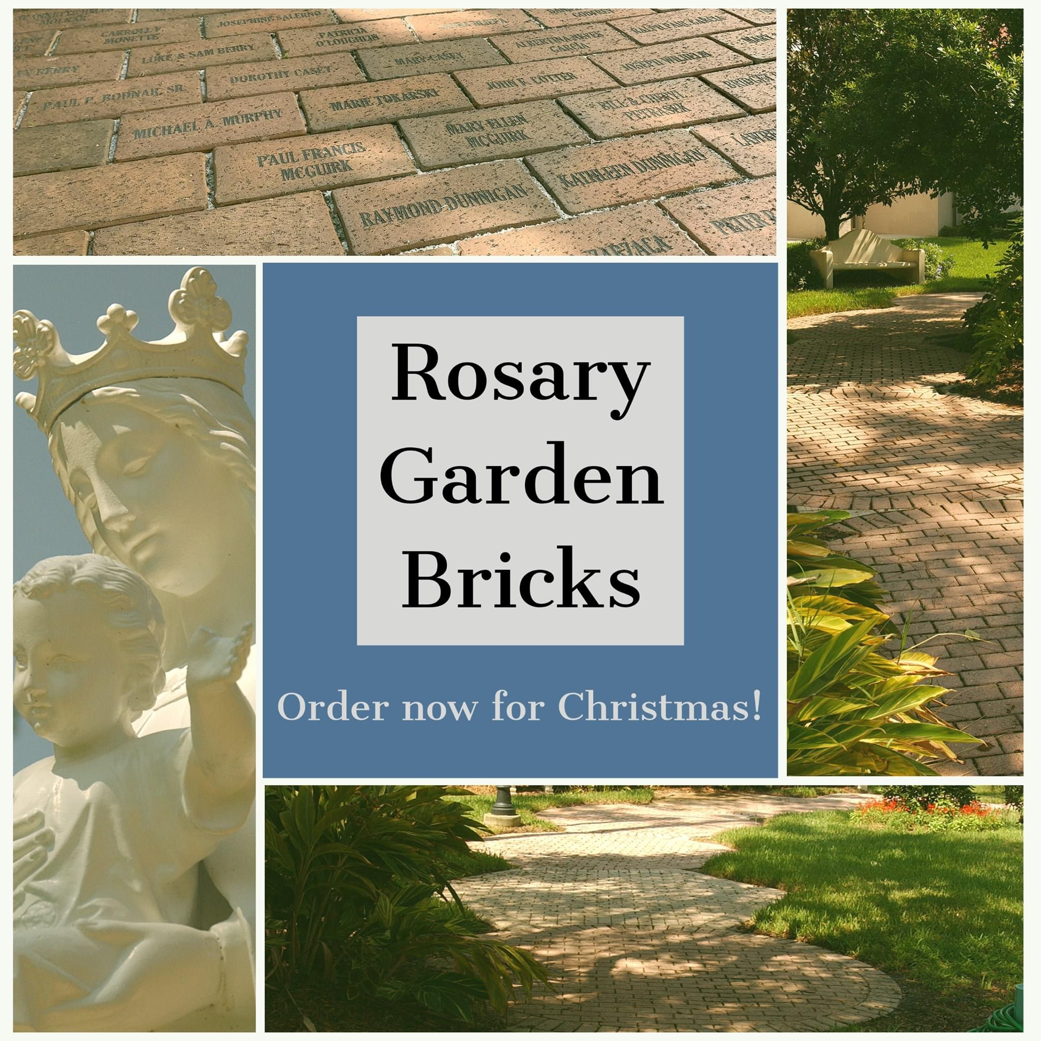 Rosary Garden Bricks